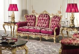 Роскошный диван в стиле барокко