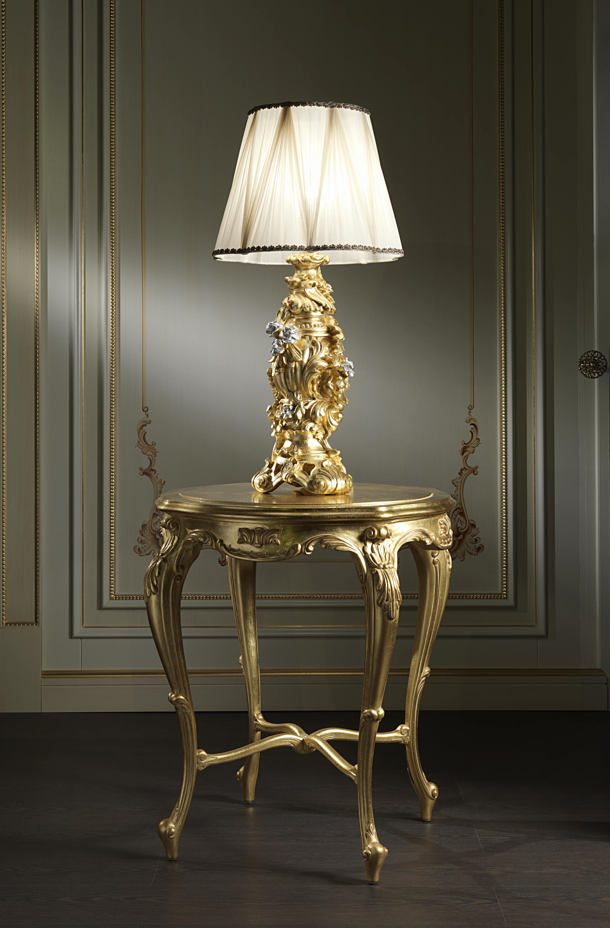 Baroque Classic Table Lamps Vimercati Classic Furniture