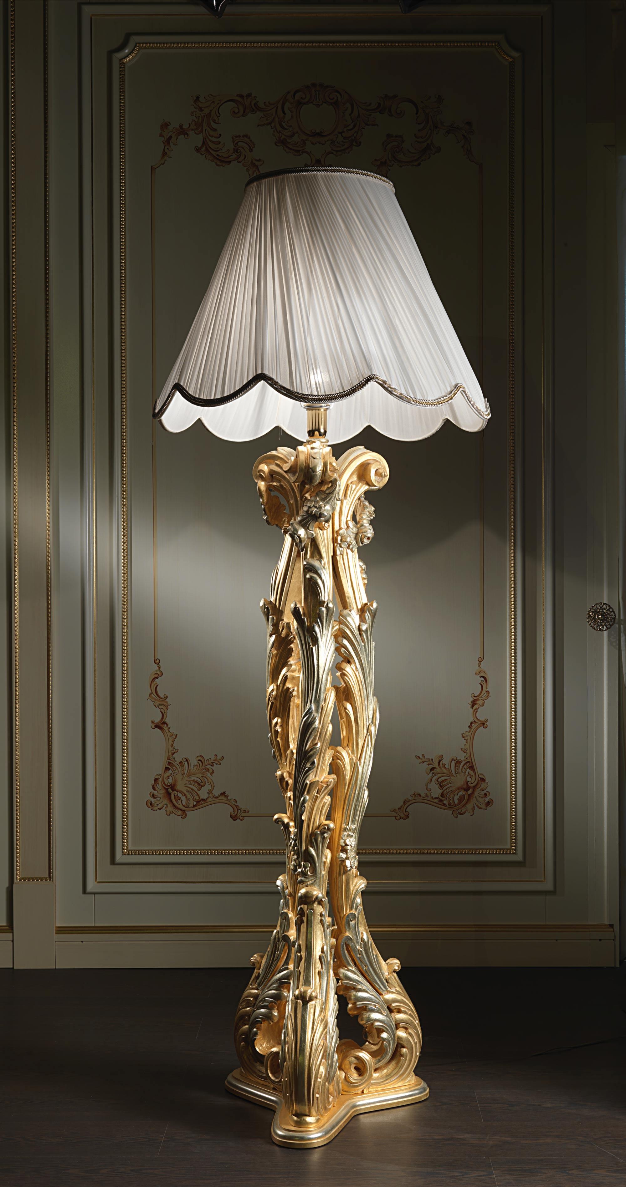 Luxury Floor Lamp In Baroque Style Vimercati Classic