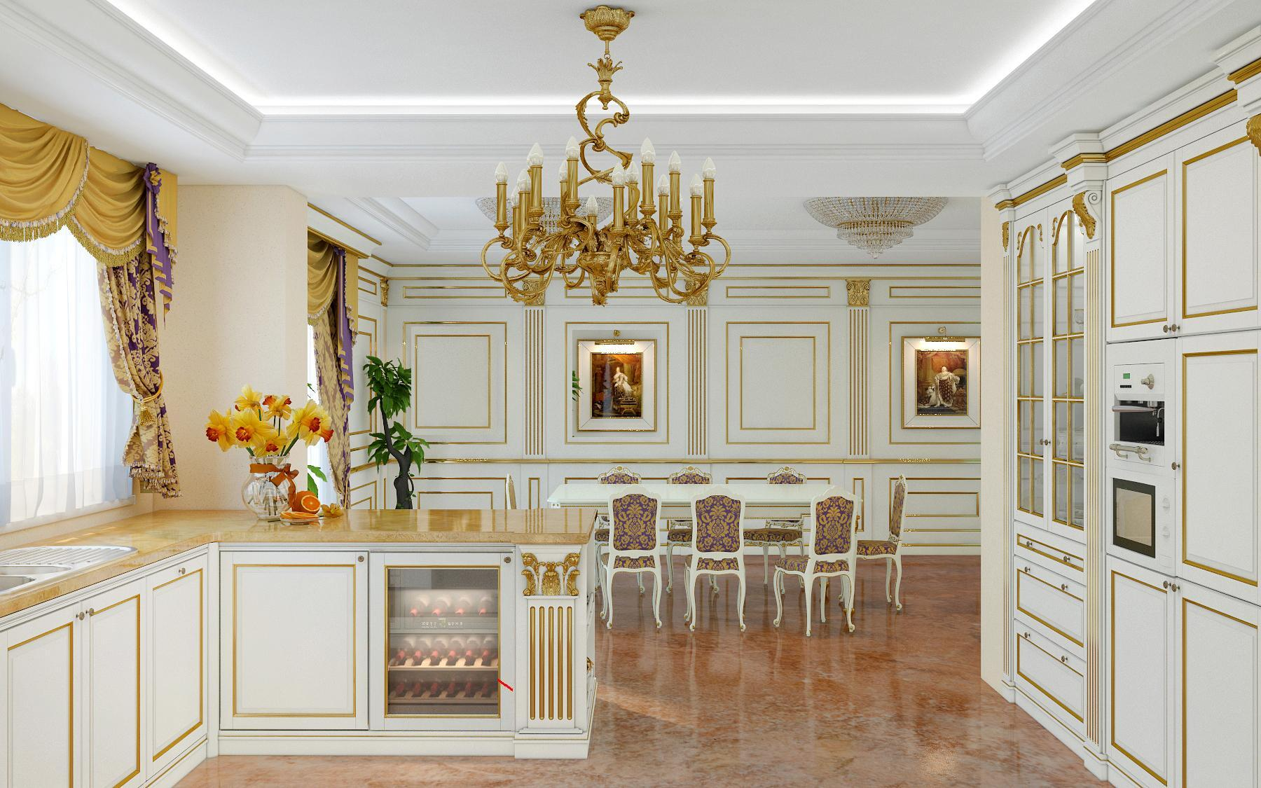 Luxury Kitchen Made In Italy Model Legacy Vimercati