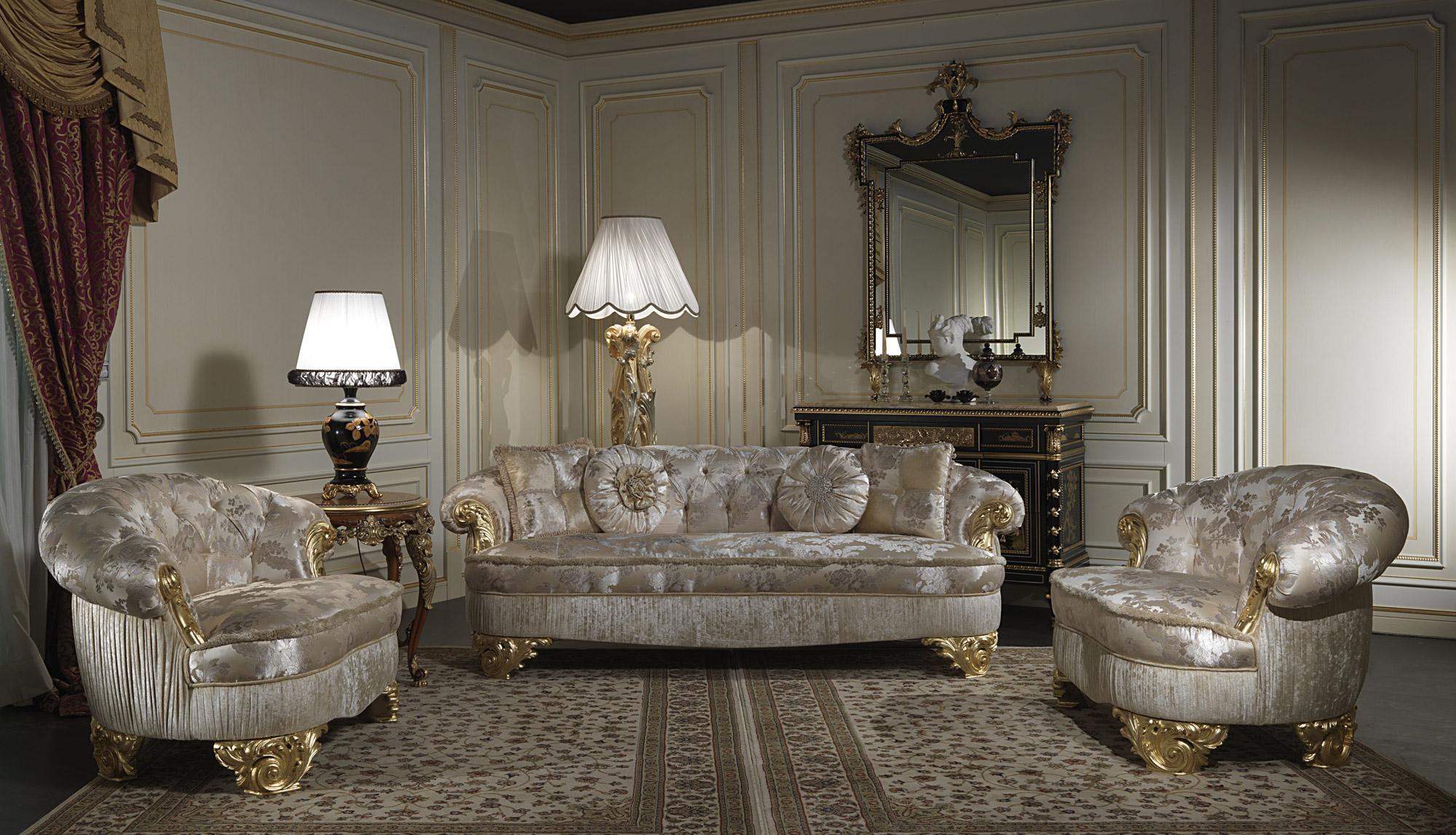 Exclusive sofas classic style Paris