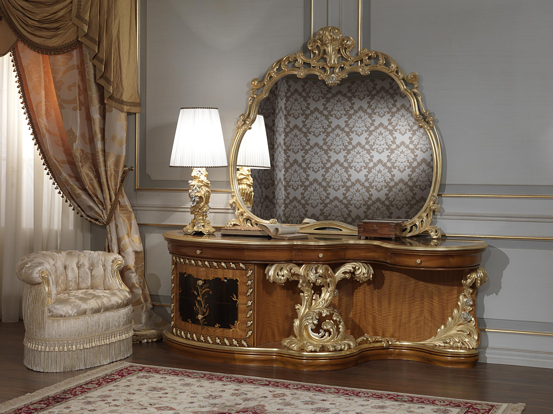 Baroque bedroom furniture art 2012 roman baroque style