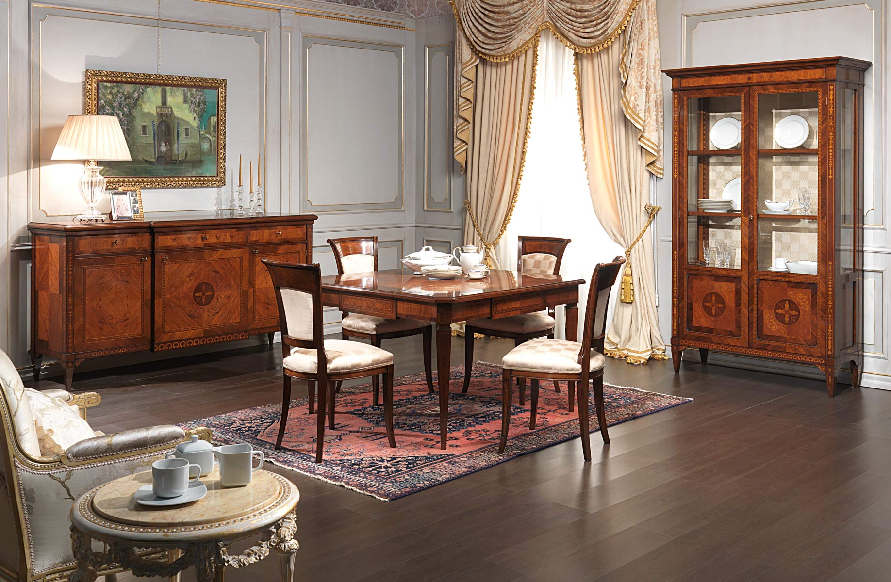 Salle manger maggiolini vimercati classic furniture for Salle a manger english