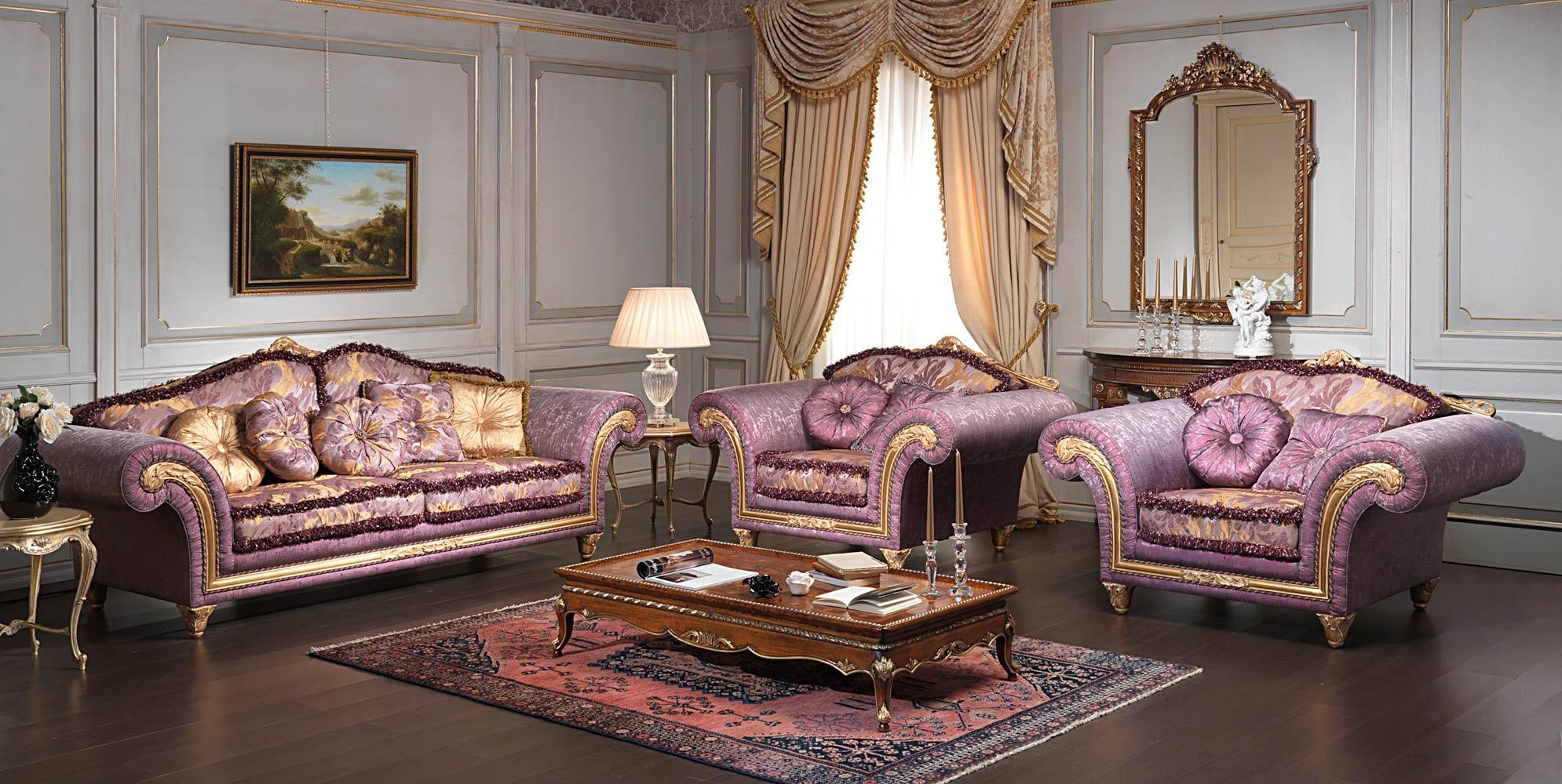 Classic Luxury Living Room Imperial Vimercati Classic