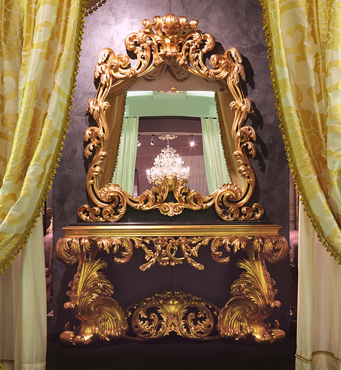 baroque italian 17th century console vimercati classic furniture. Black Bedroom Furniture Sets. Home Design Ideas