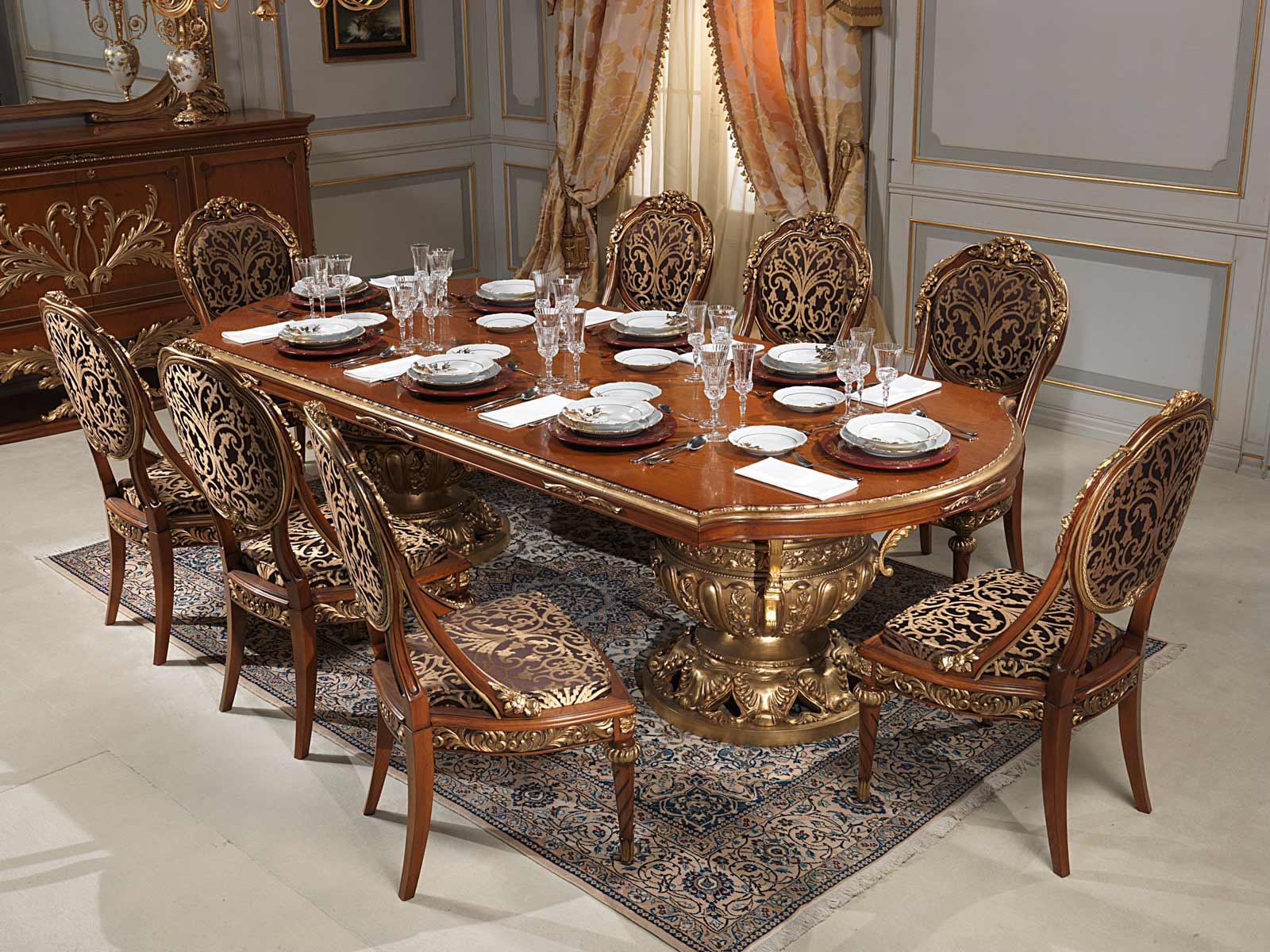 Versailles Dining Room In Louis XVI