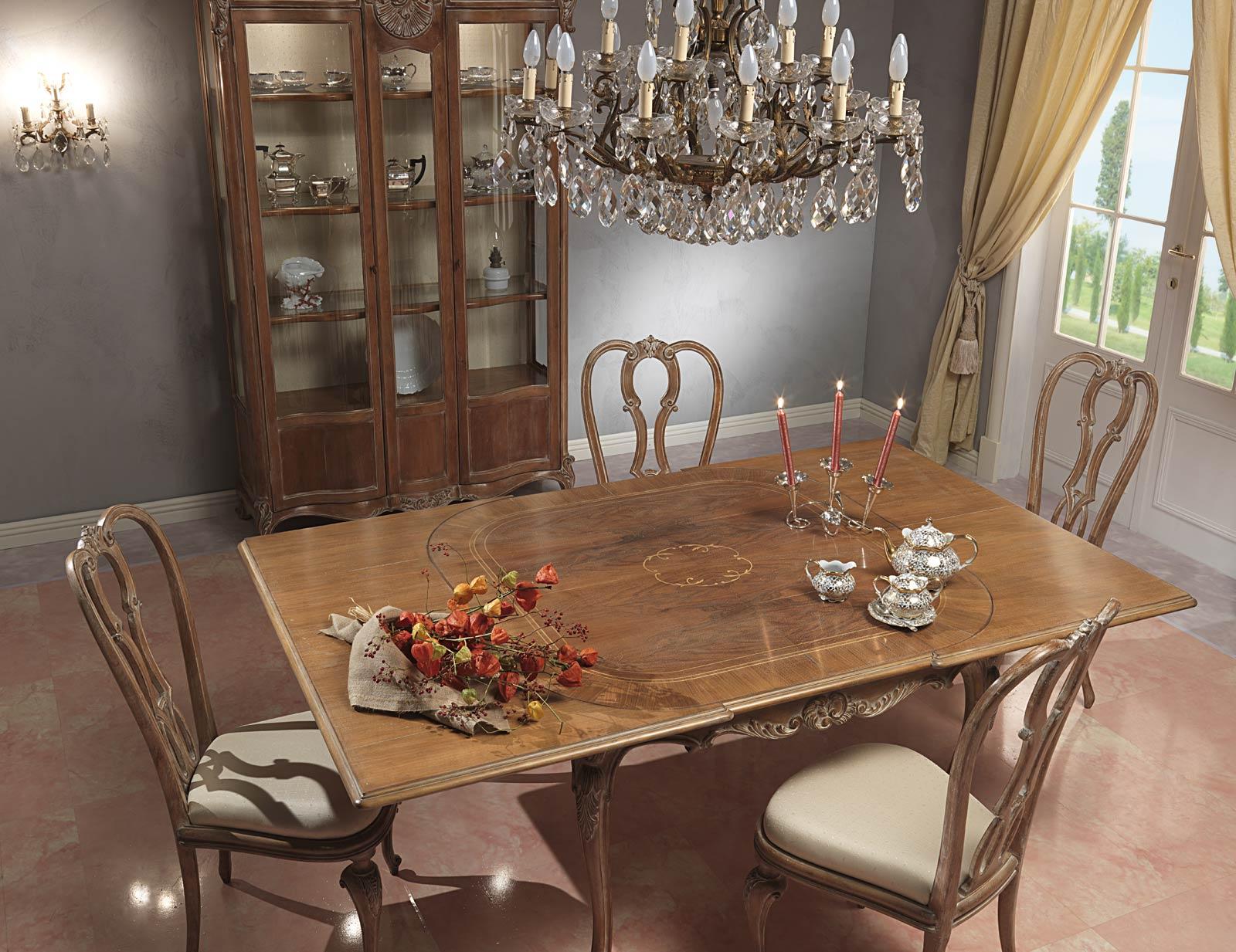 Paris Dining Room In Louis Xv Style Vimercati Classic