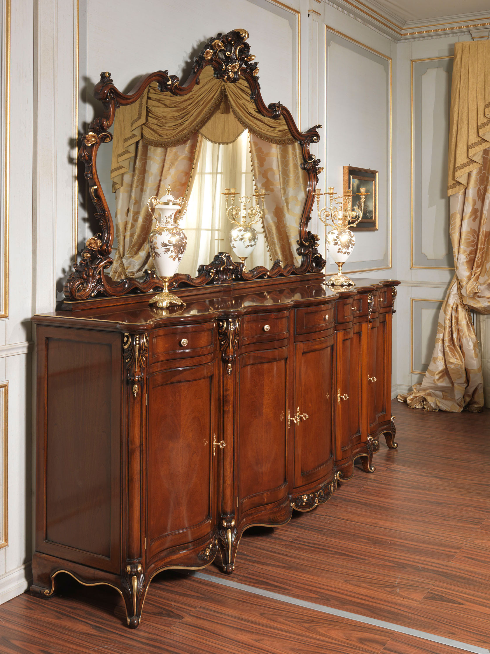 Paris Sideboard In Louis Xv Style Vimercati Classic