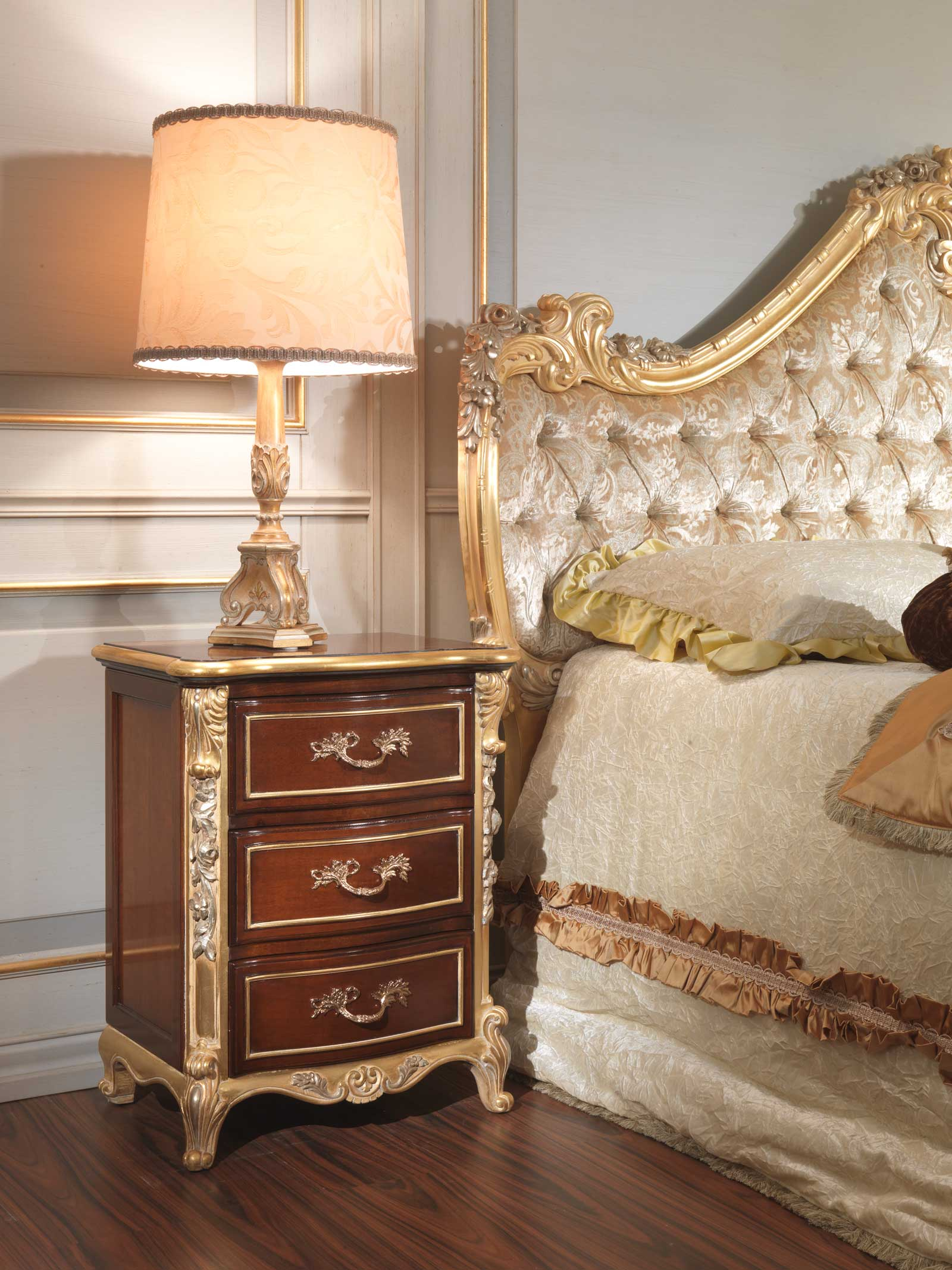 Classic italian bedroom 18th century night table Century bedroom furniture
