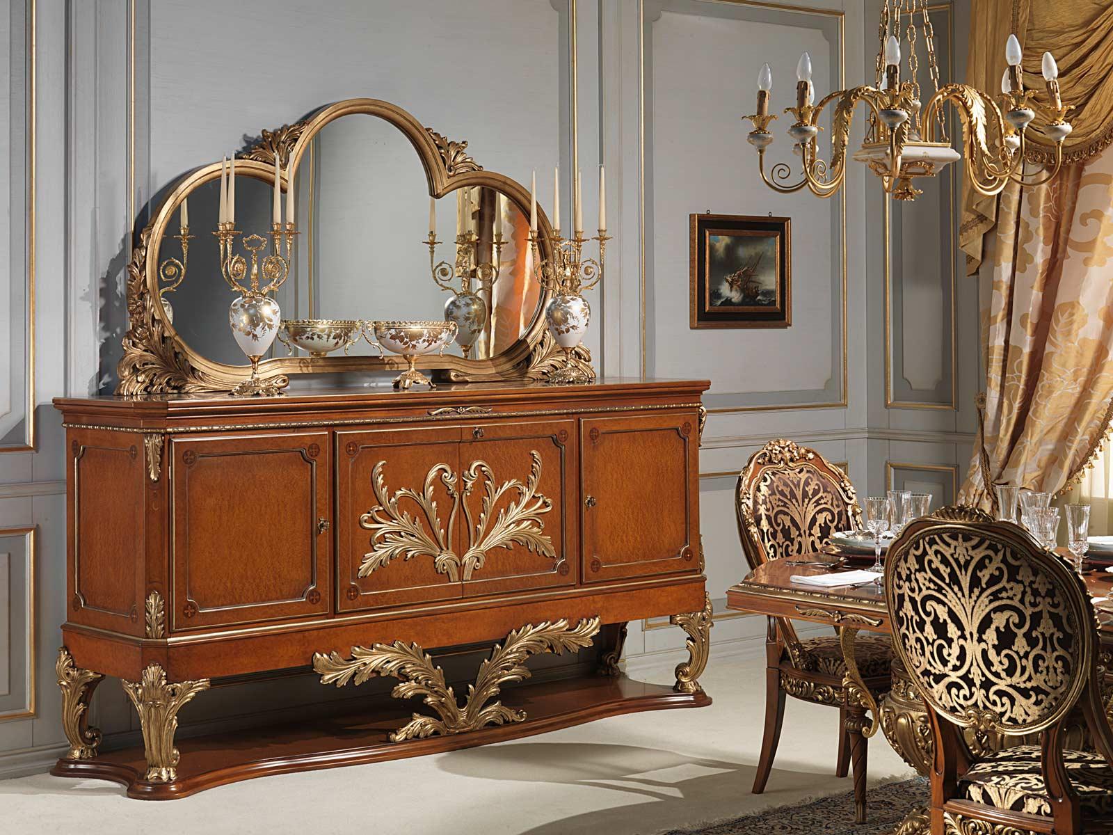 Versailles Sideboard In Louis Xvi Style Vimercati