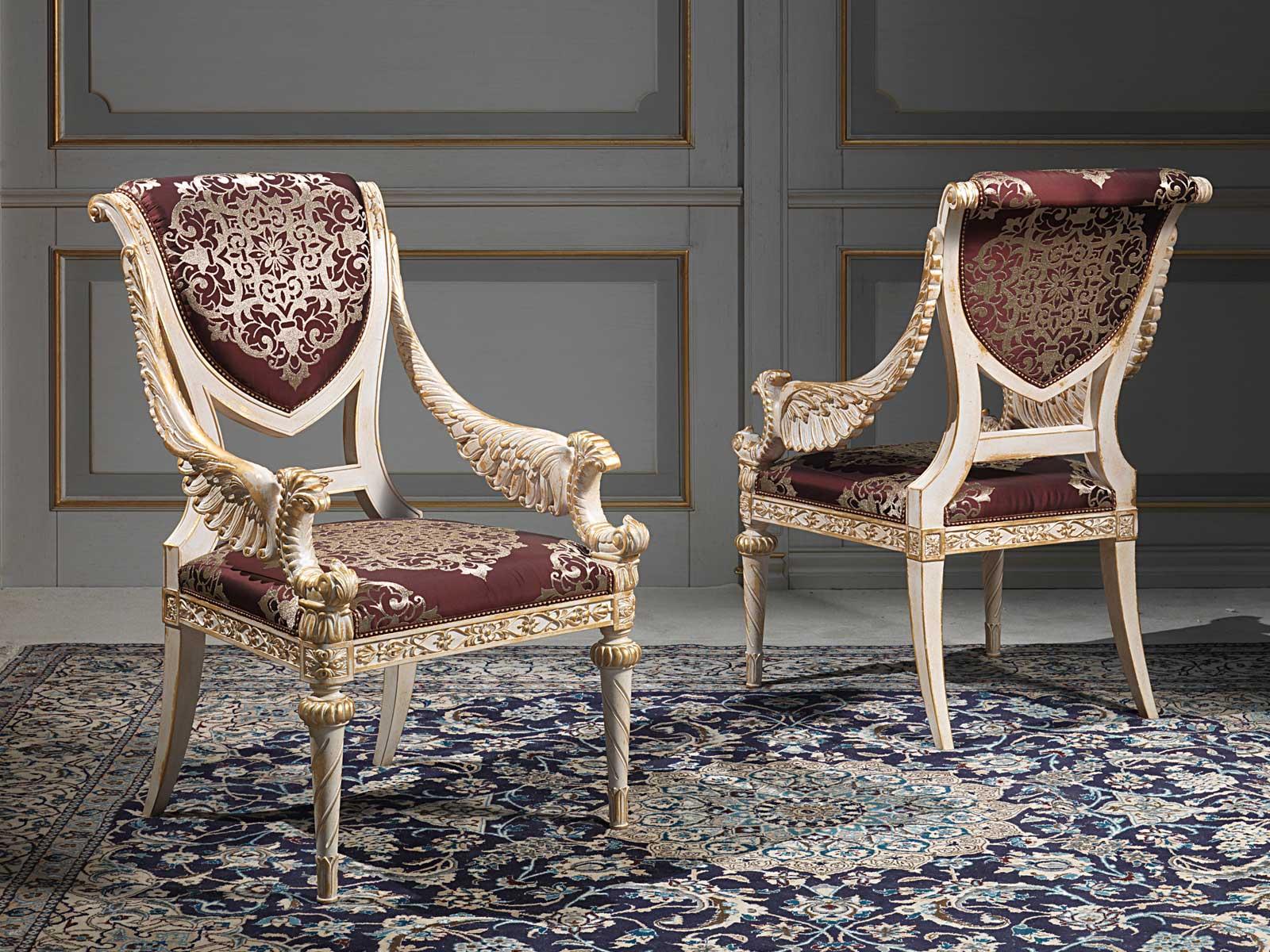 Chairs Louis Xvi Style Vimercati Classic Furniture