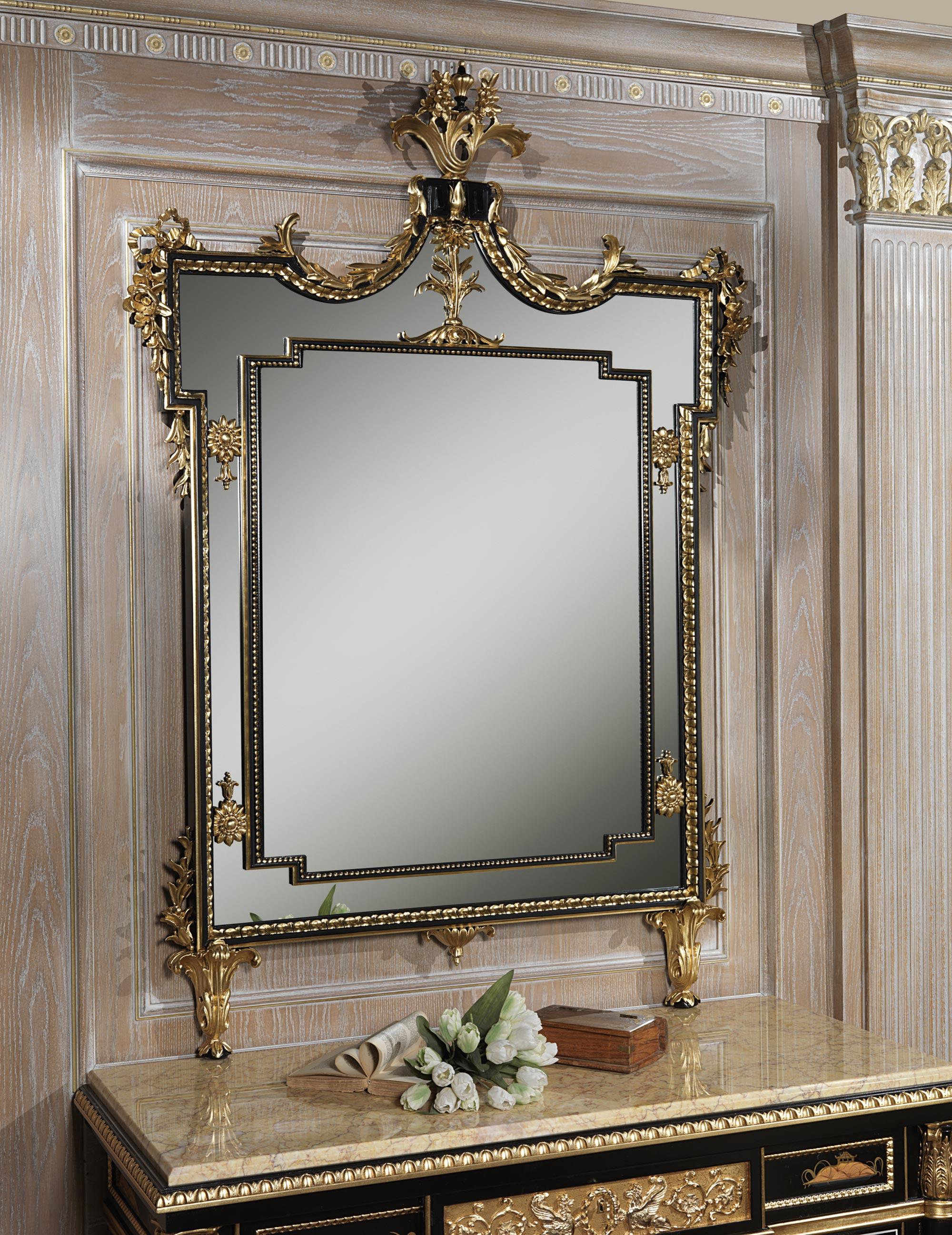 Luxury classic mirror vimercati classic furniture for Classic mirror