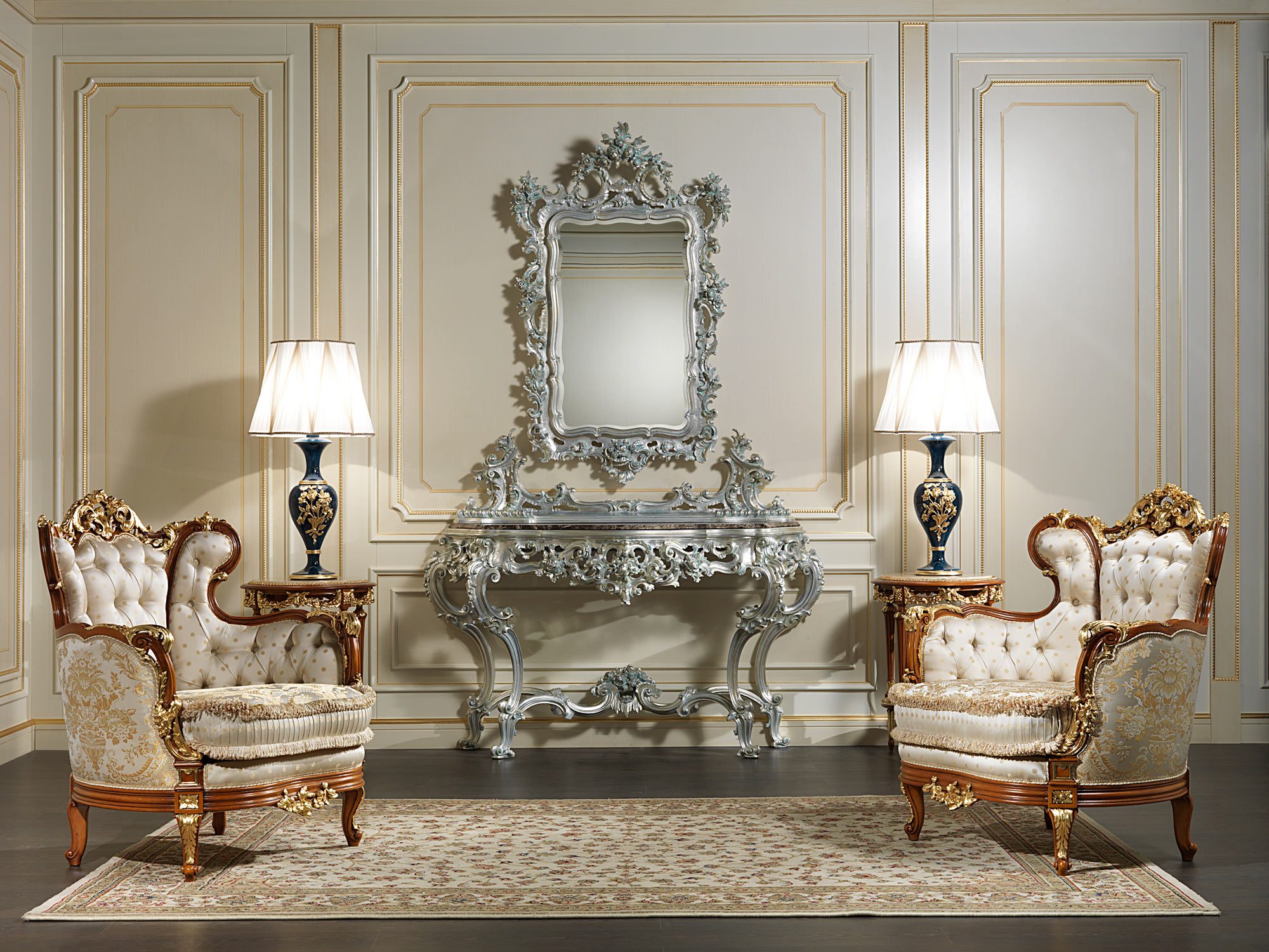 Classic Armchairs Nineteenth Century Vimercati Classic