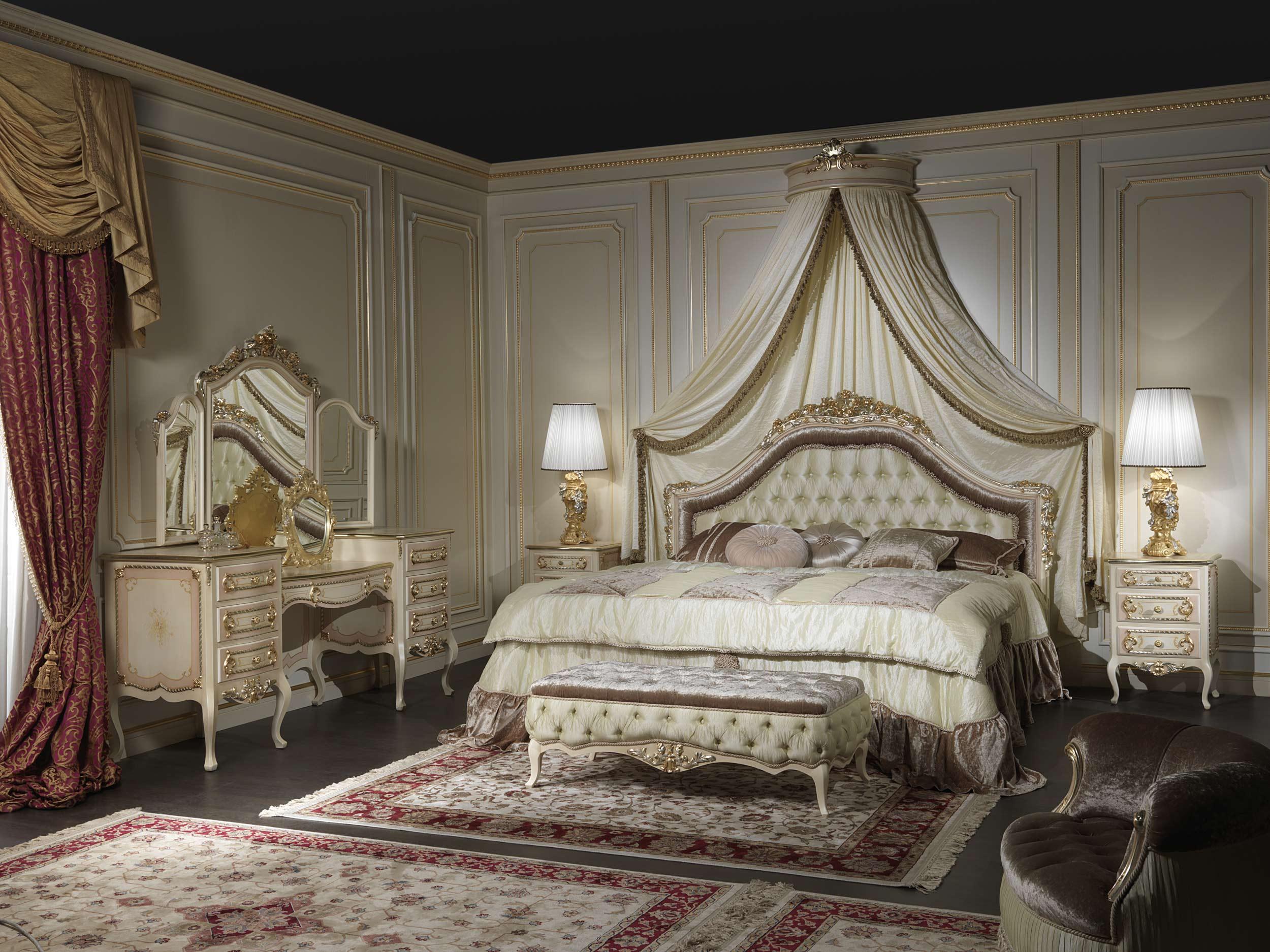 Bedroom Furniture Classic Louvre 943 Vimercati Classic