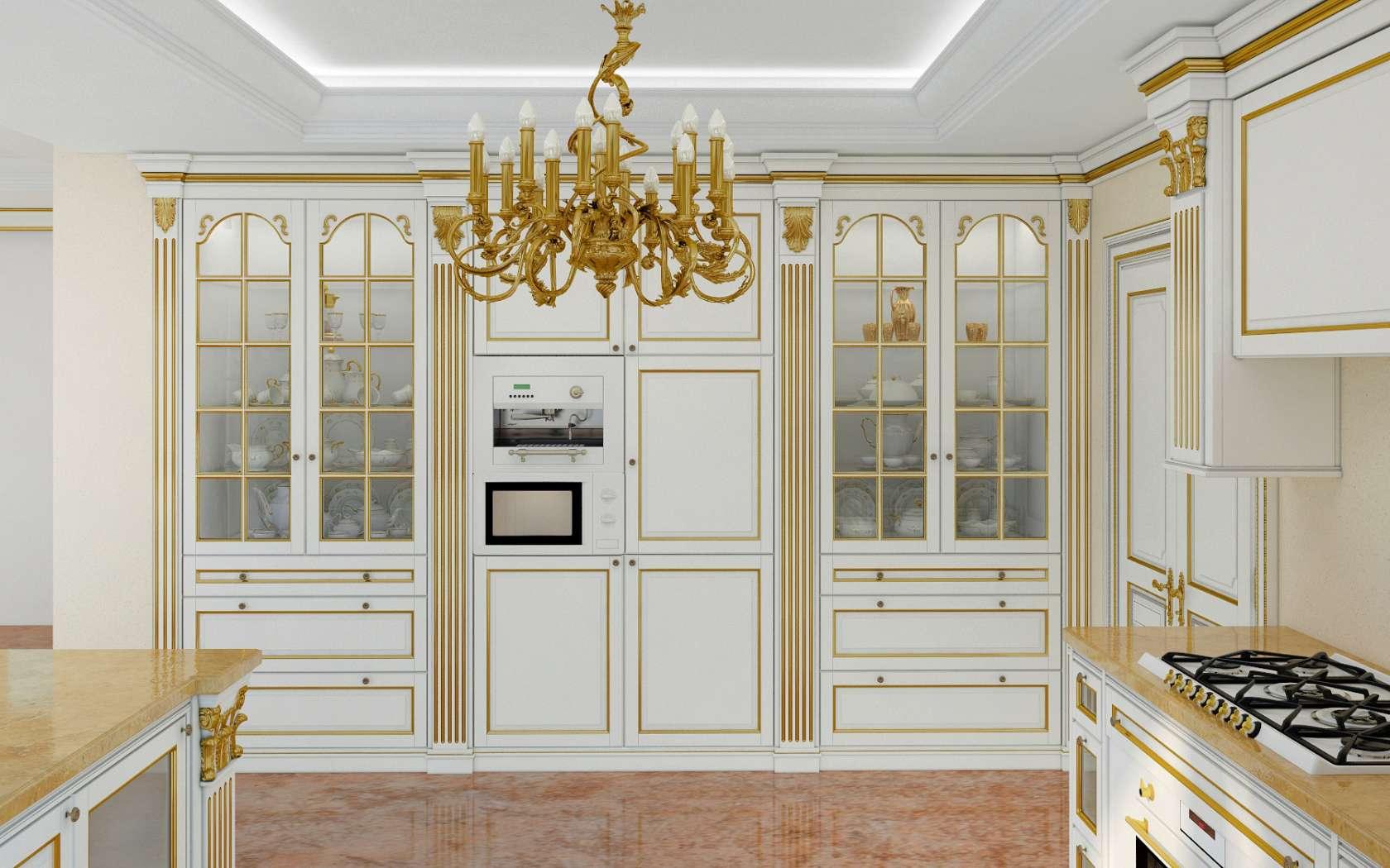 Cucina di lusso modello Legacy | Vimercati Classic Furniture
