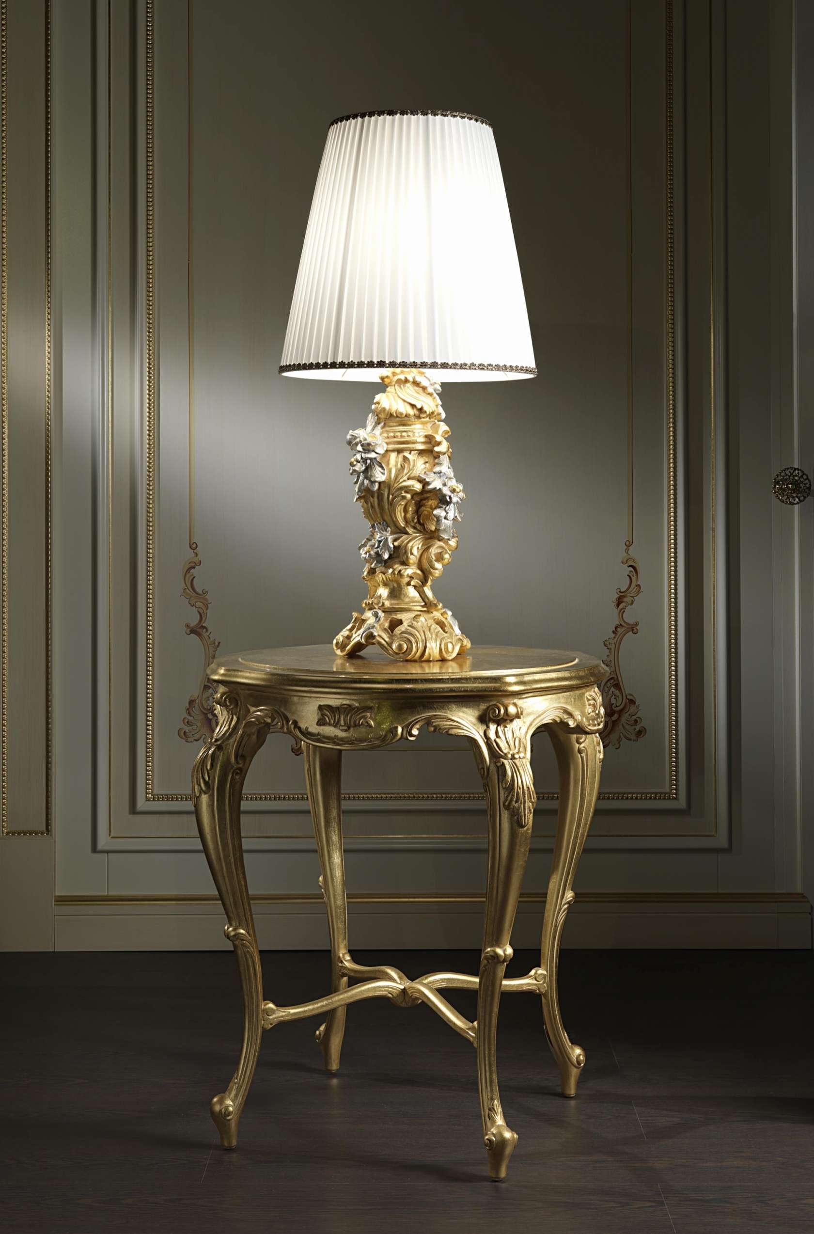 Abat jour classiche barocche vimercati classic furniture - Lampade da tavolo prezzi ...