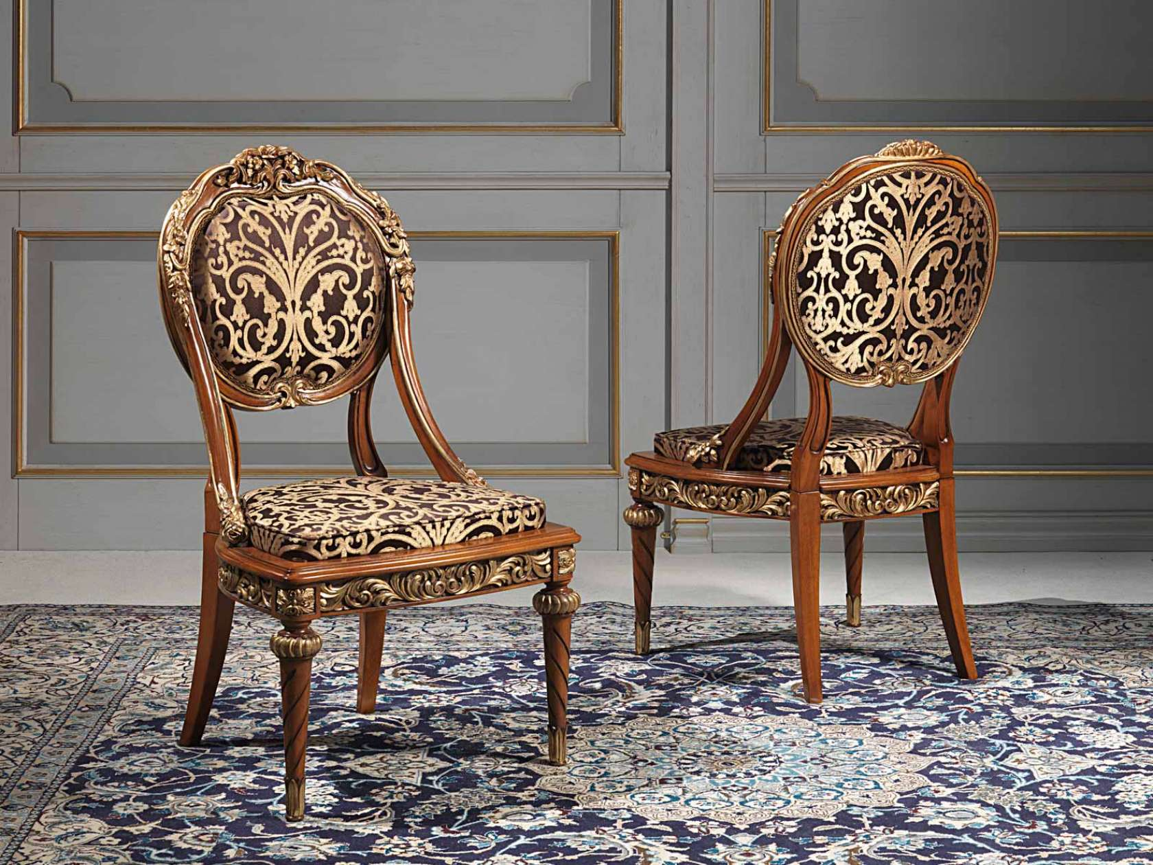 Versailles Chairs In Louis XVI Style