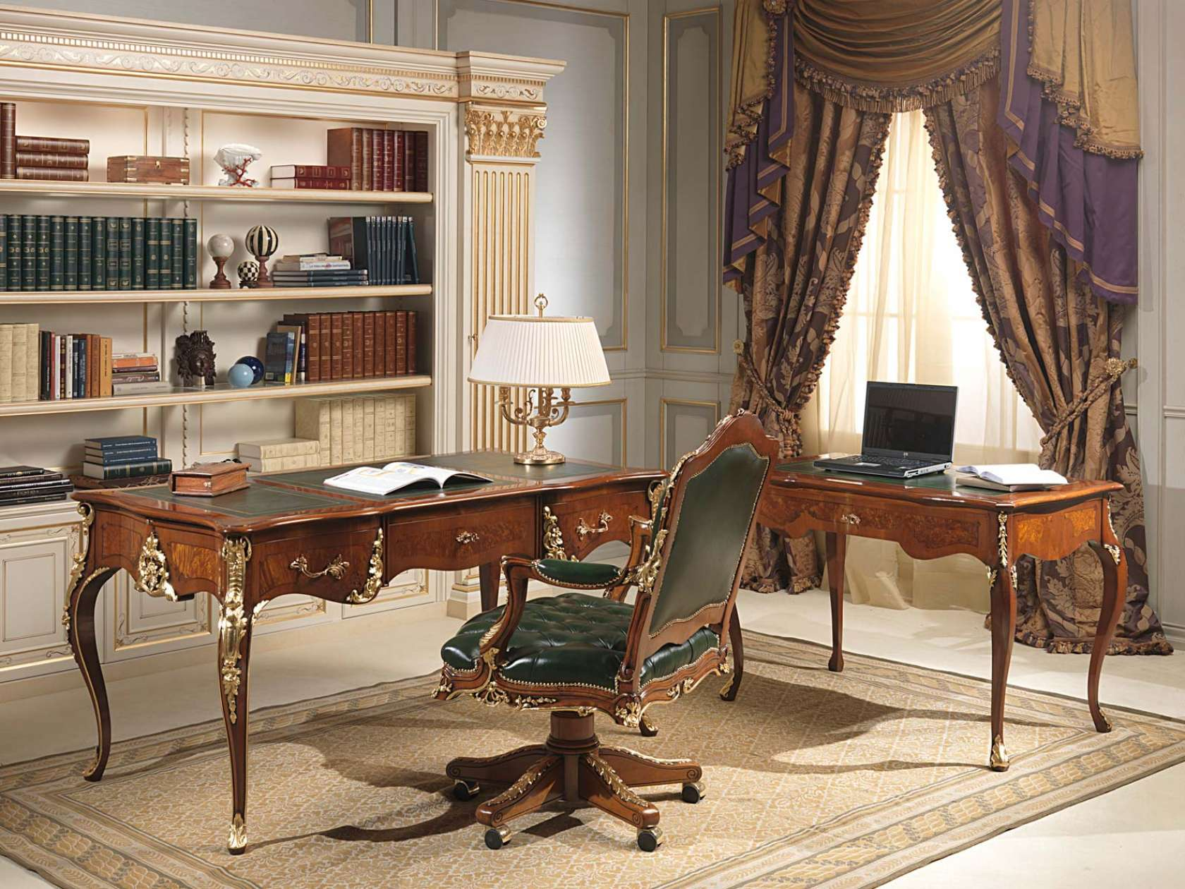 Office Louis XV Style