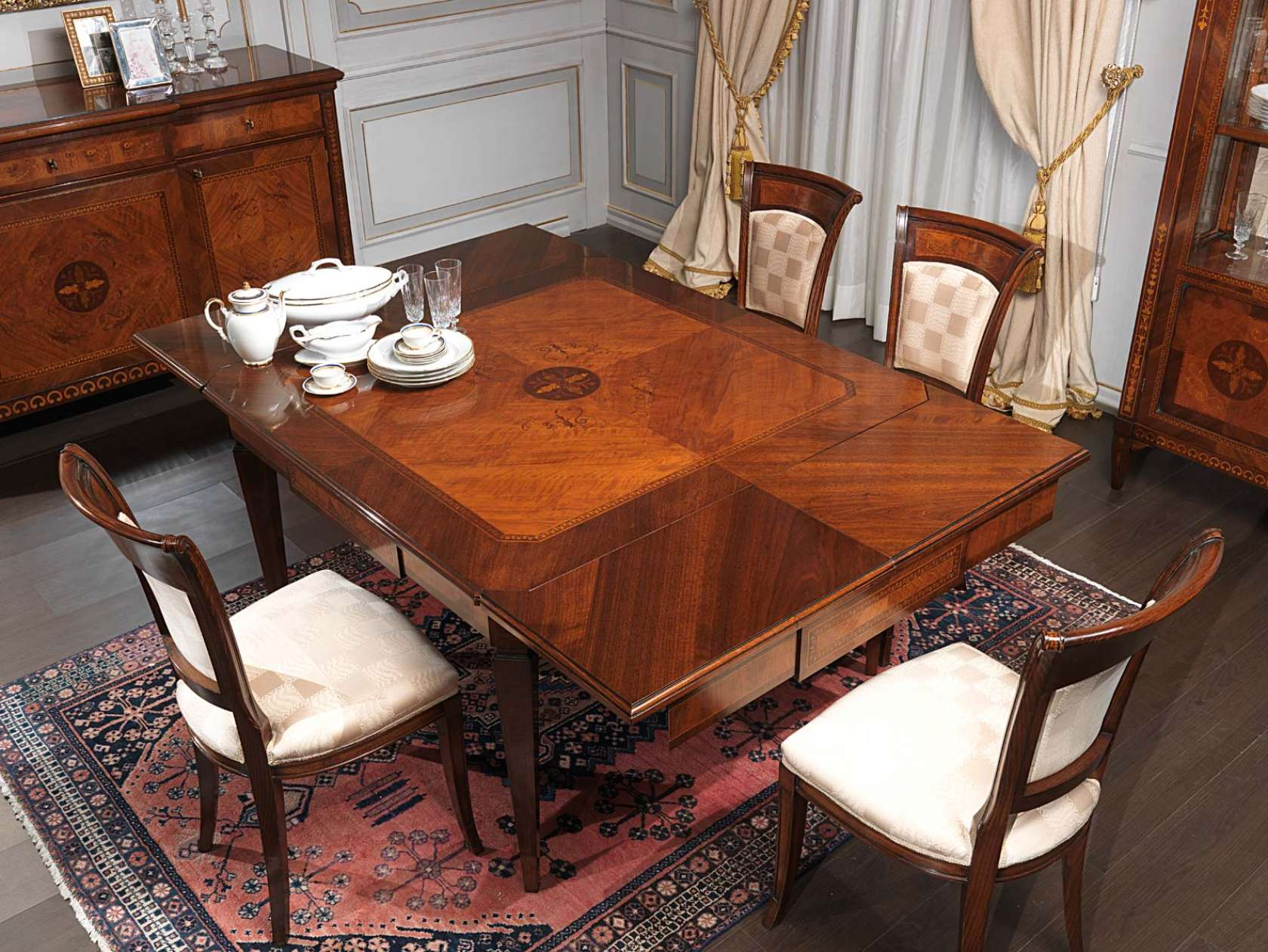 classic dining room maggiolini collection vimercati classic