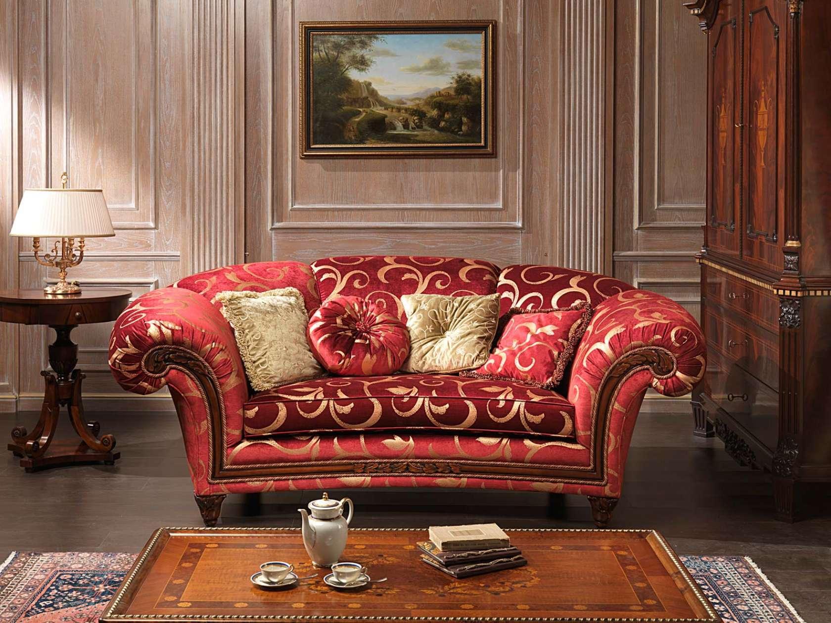 Classic Sofa Palace And Table Vimercati Classic Furniture