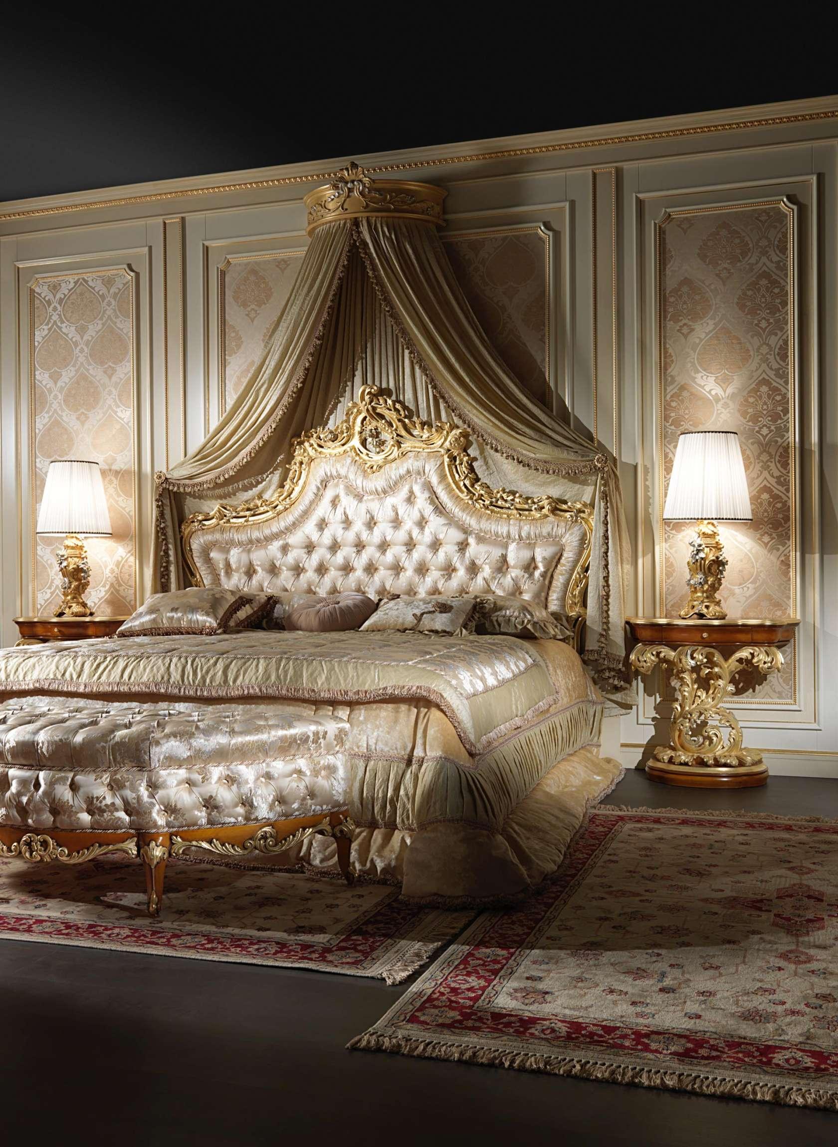 Charmant 2012 Roman Baroque Style. Elegant Baroque Bed