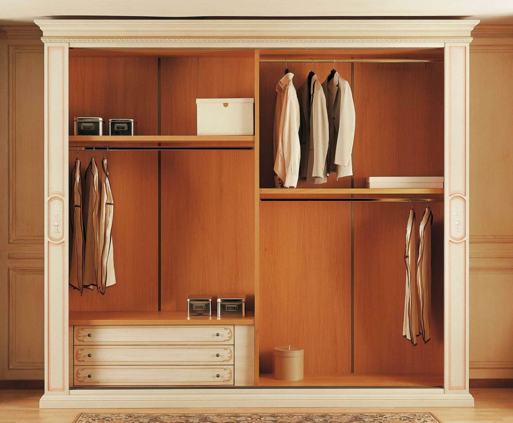 Classic Wardrobe Canova, Internal With Drawers