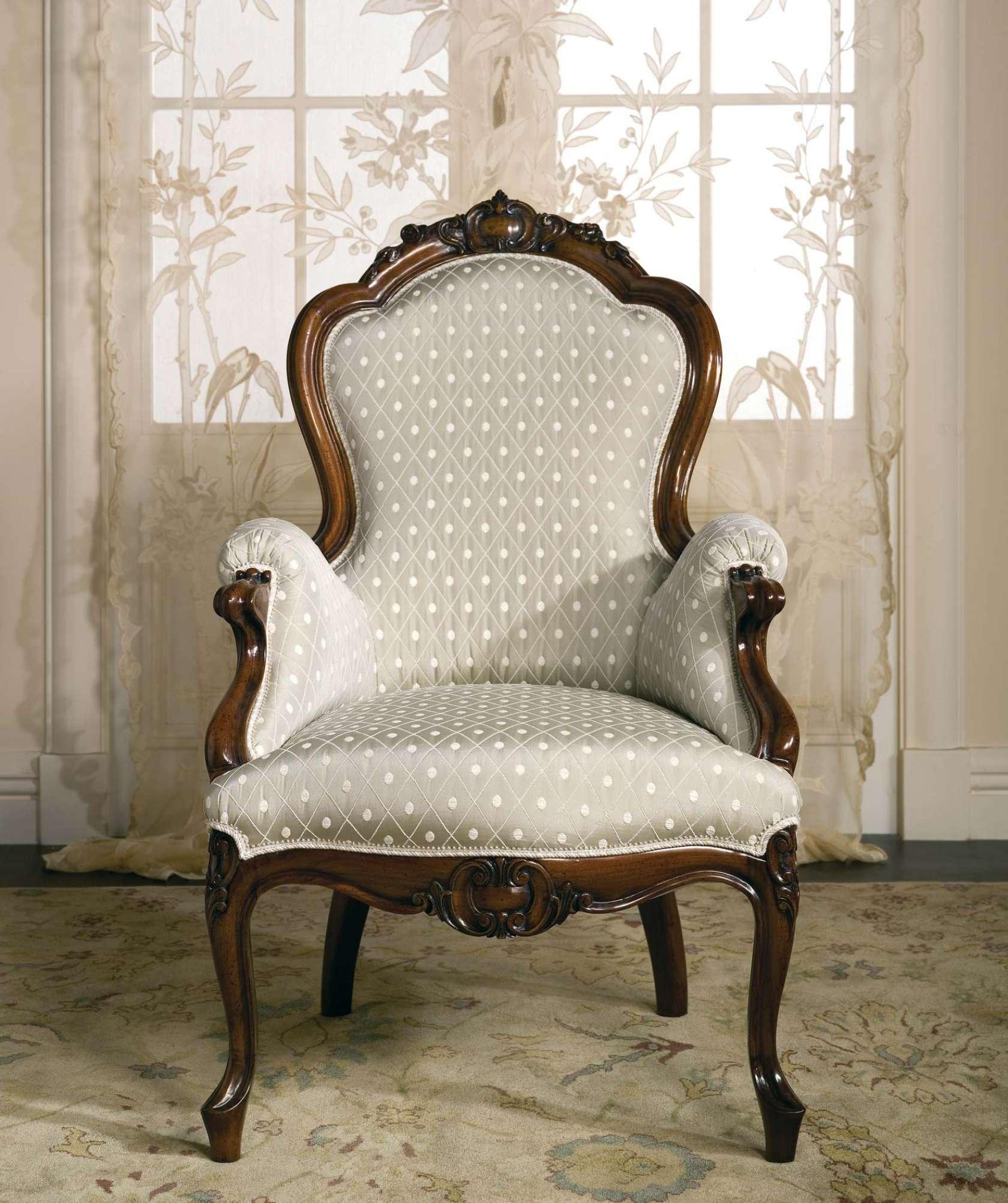 fauteuil classique carlotta vimercati classic furniture. Black Bedroom Furniture Sets. Home Design Ideas