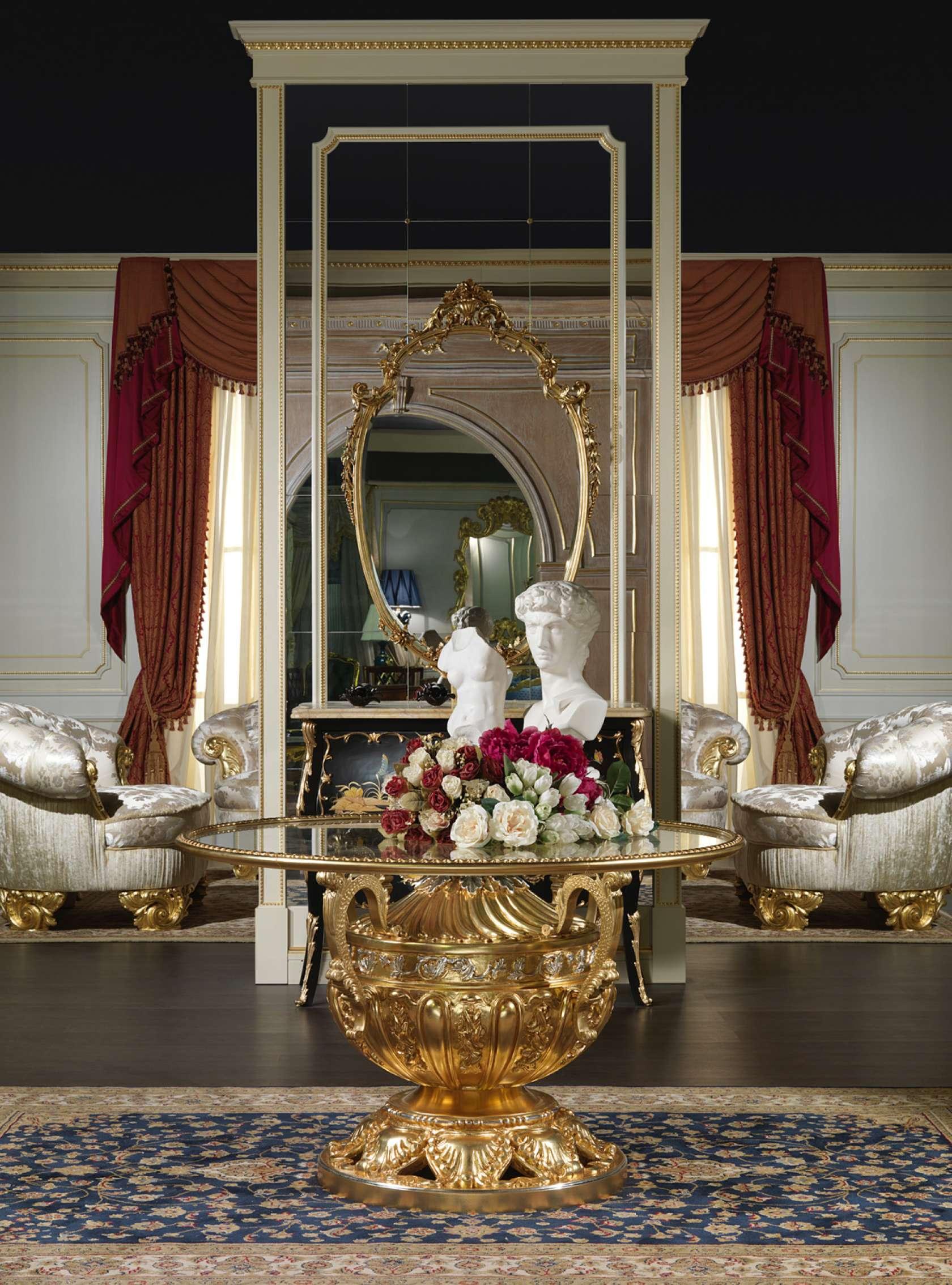 Tavoli Classici In Cristallo.Tavolo Lusso Cristallo Vimercati Classic Furniture