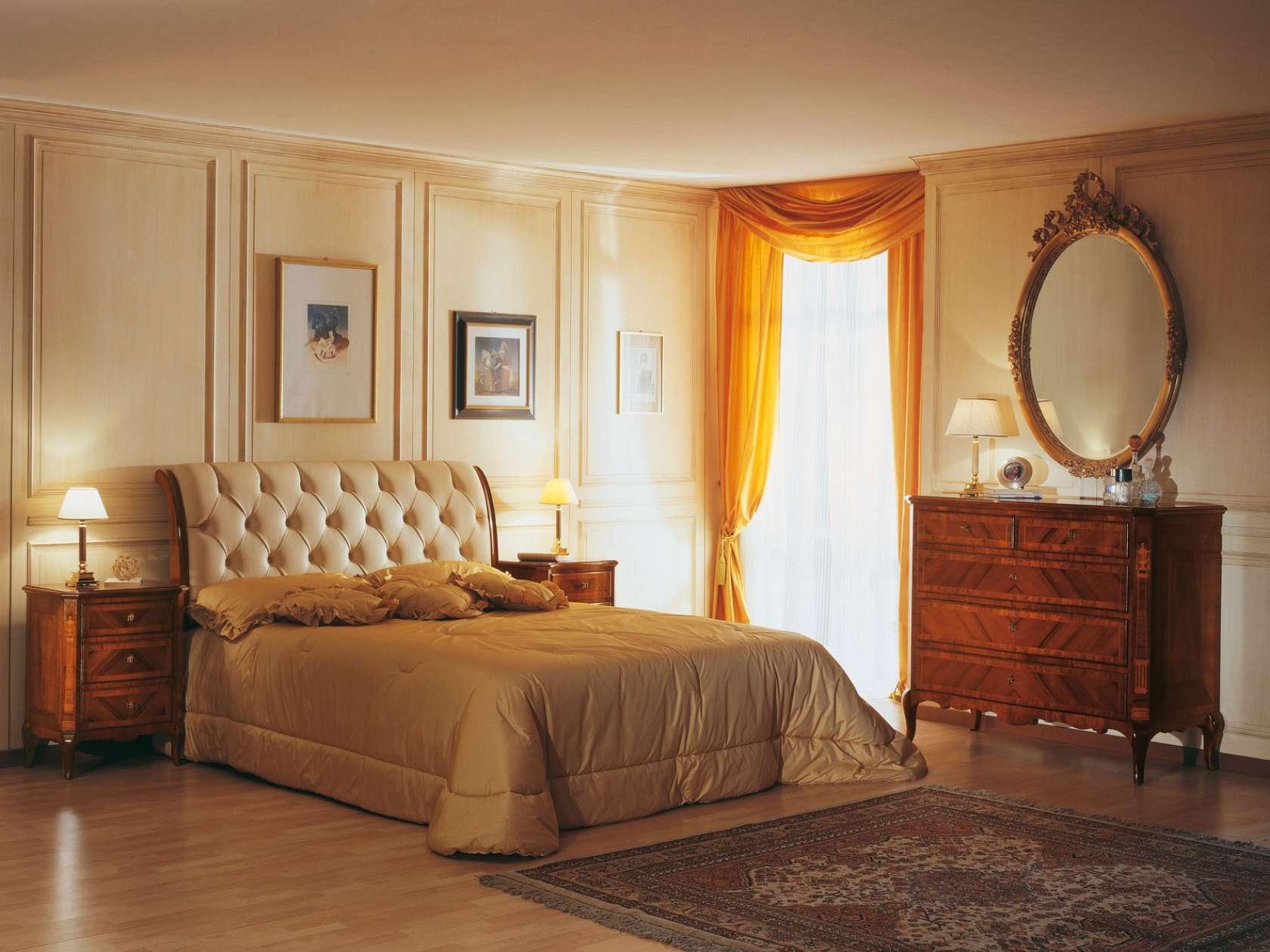 Camera da letto francese in stile 800 | Vimercati Classic ...