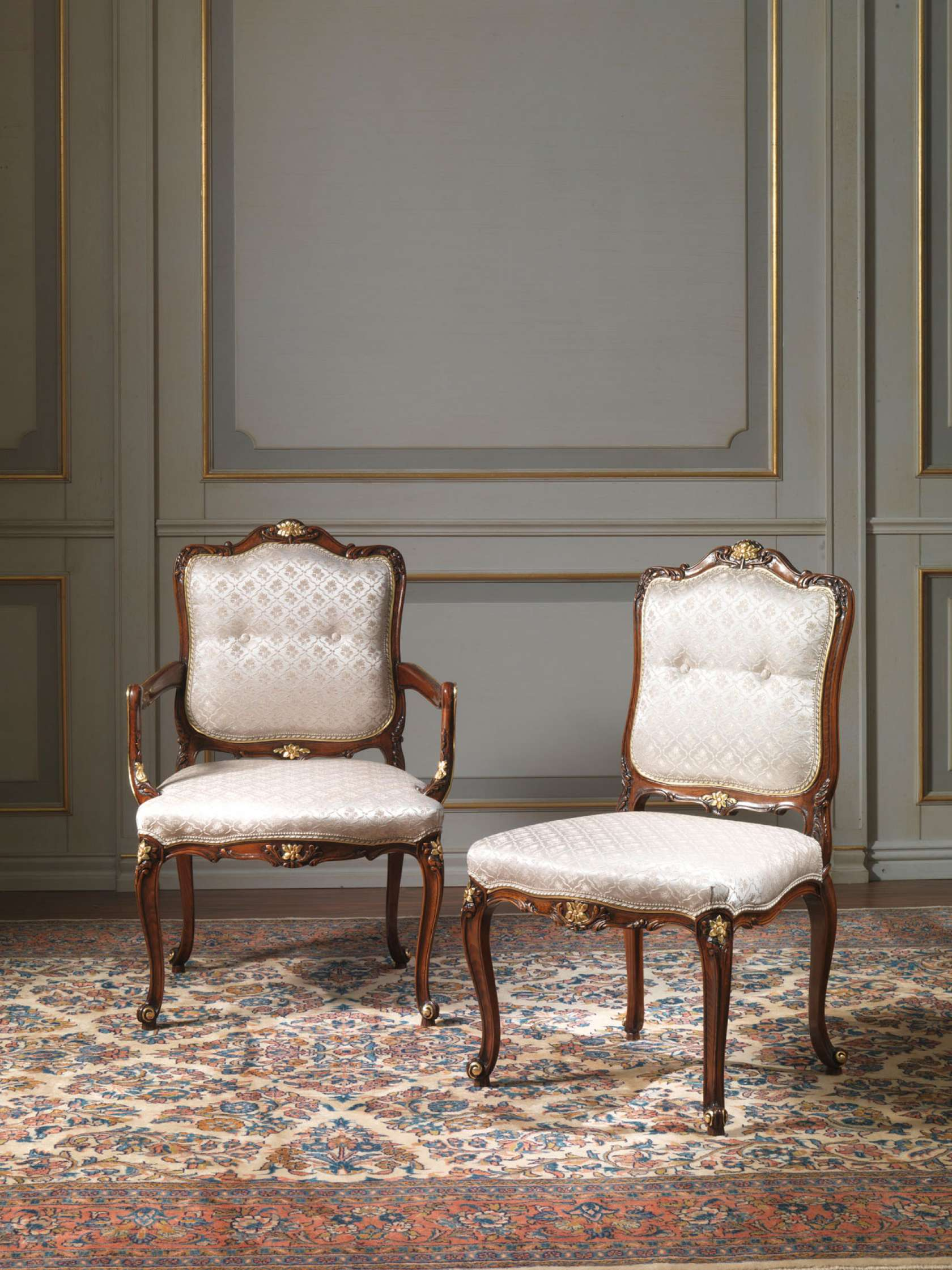 Louis xv living room furniture - Chairs In Louis Xv Style
