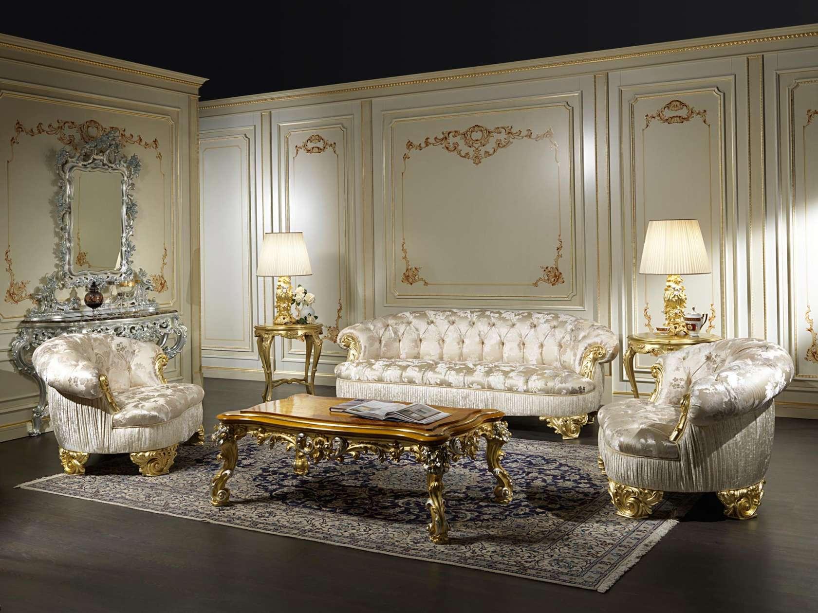 Classic Sofas Living Room Paris