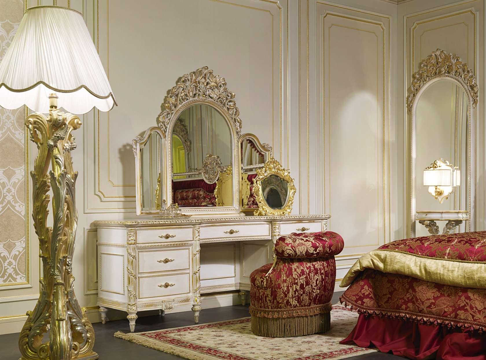 Toilette Camera Da Letto Di Lusso Vimercati Classic Furniture