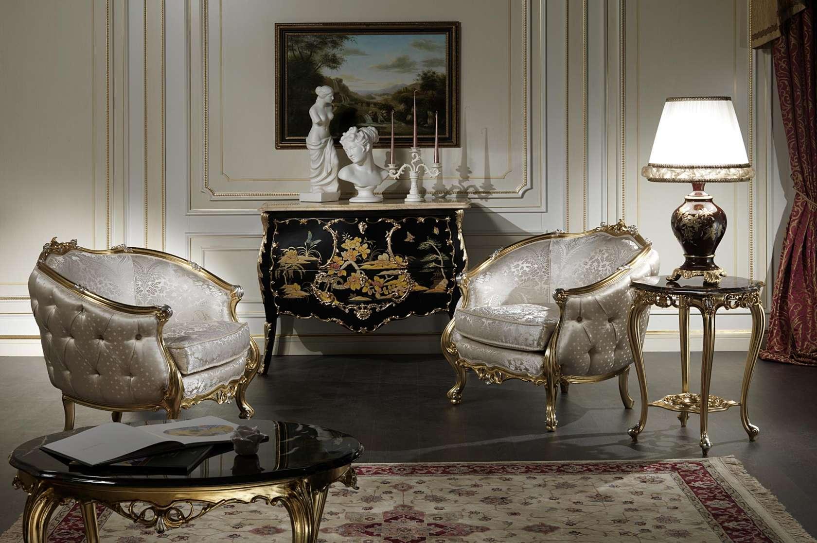 Venezia Luxury Classic Armchairs