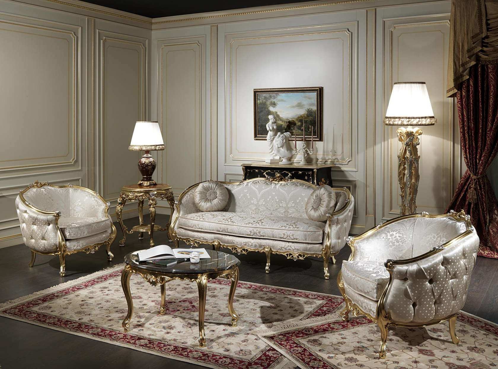 Stunning Classic Living Room Furniture Images - Home Design Ideas ...