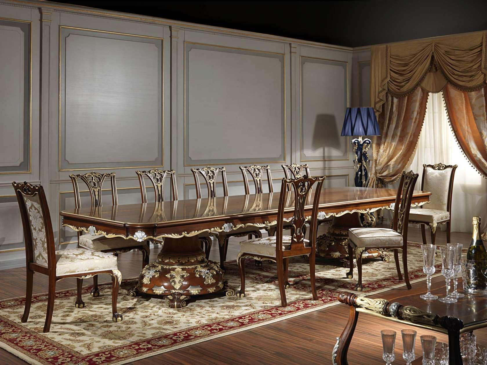 Tavoli Da Pranzo Classici : Tavolo da ricevimento classico in stile luigi xv vimercati