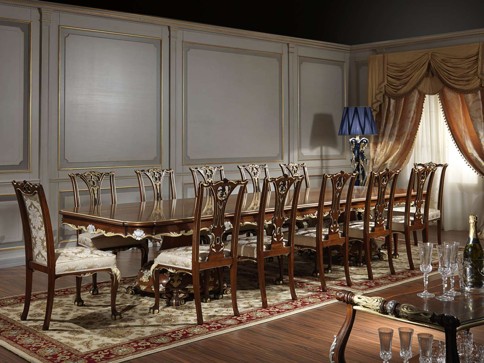 the luxury meeting table in the classic style of louis xv the luxury meeting table in the classic style of louis xv