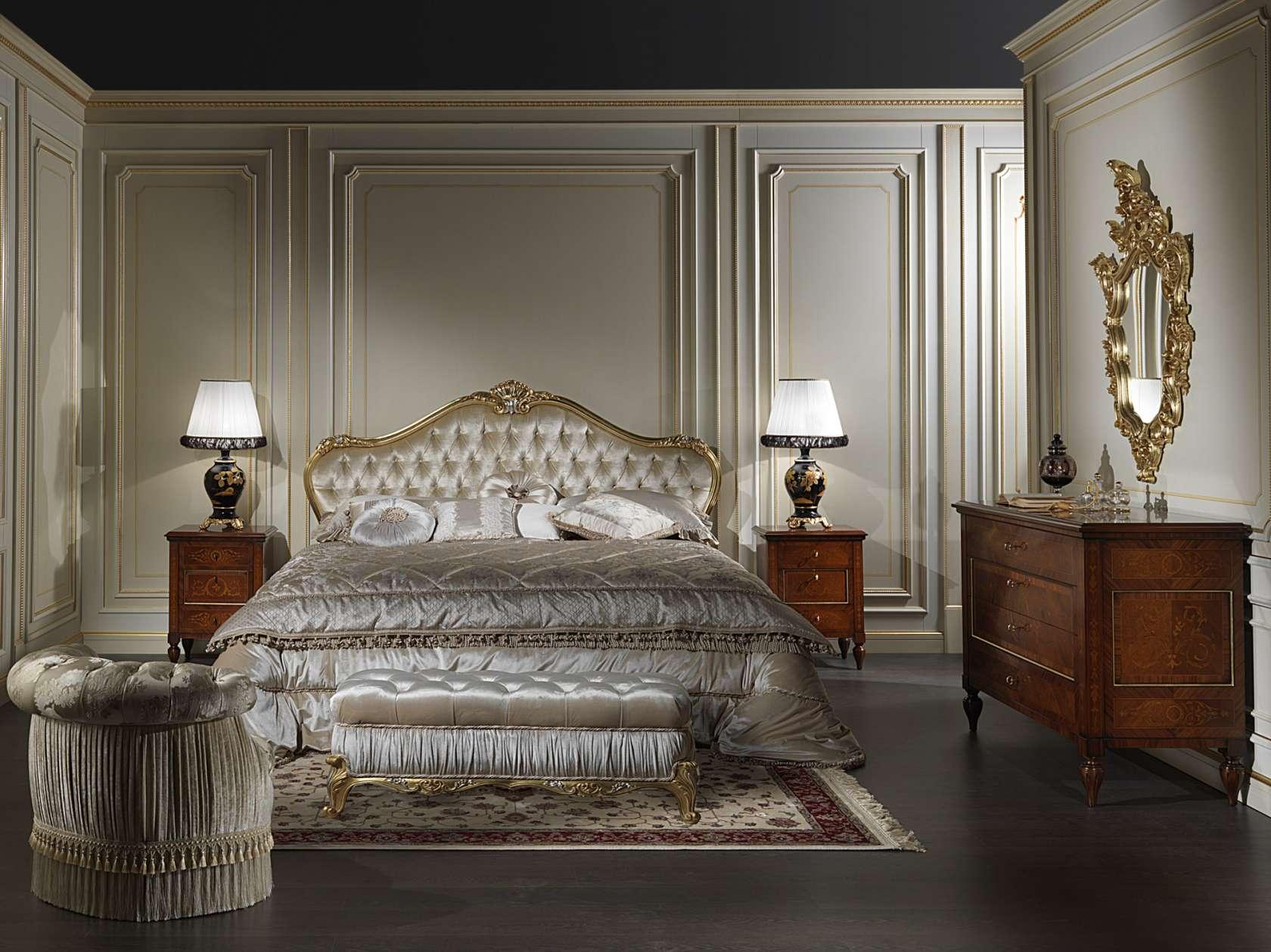 Camera matrimoniale classica stile maggiolini 925 ...