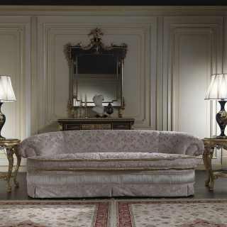 Classic handmade sofa