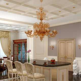 Luxury tailored kitchen Olga