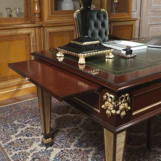 Writing table for a study in classic style