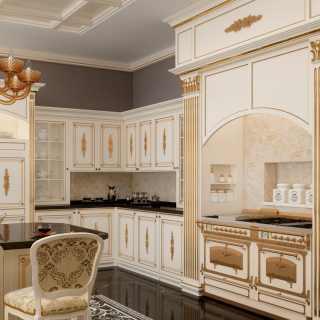Tailored crafted kitchen Olga