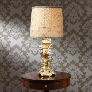 Baroque lamp in classic style