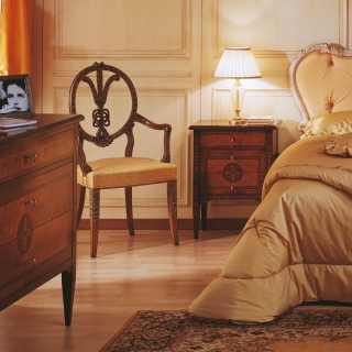 Classic bedroom maggiolini vimercati classic furniture - Wit bed capitonne ...