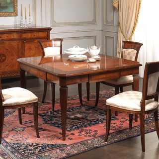 Classic table Maggiolini style, italian production