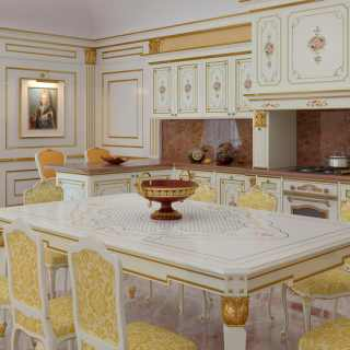 Luxury classic kitchen Veruska model