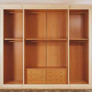 Classic wardrobe Canova, internal equipment