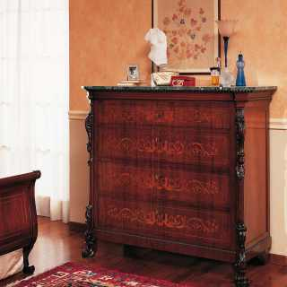 800 siciliano classic trumeau, walnut finish