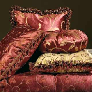 Cushions from the classic collection of sofas and armchairs Palace