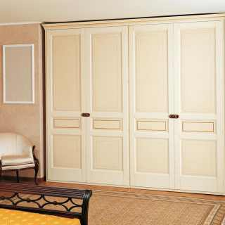 Elegant classic wardrobe made in Italy