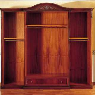 800 siciliano style wardrobe, wooden interior